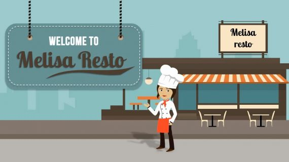 Female Chef - Explainer Video Template
