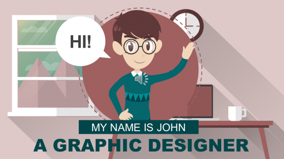 GRAPHIC DESIGNER - Explainer Video Templates