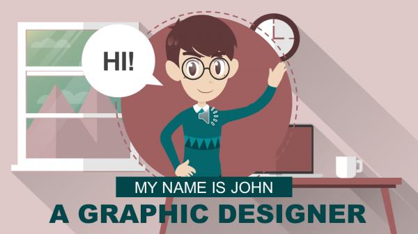 GRAPHIC DESIGNER - Explainer Video Templates