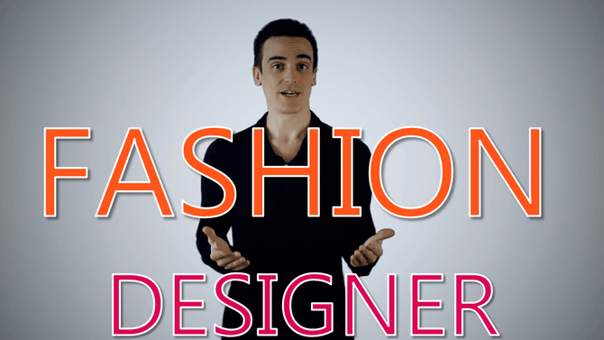 fashion designer - spokesperson