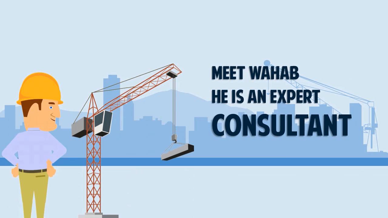 Construction Consultant – Explainer Video Template