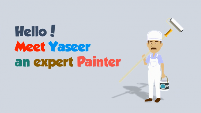 painter explainer video templates animationvideo. Black Bedroom Furniture Sets. Home Design Ideas