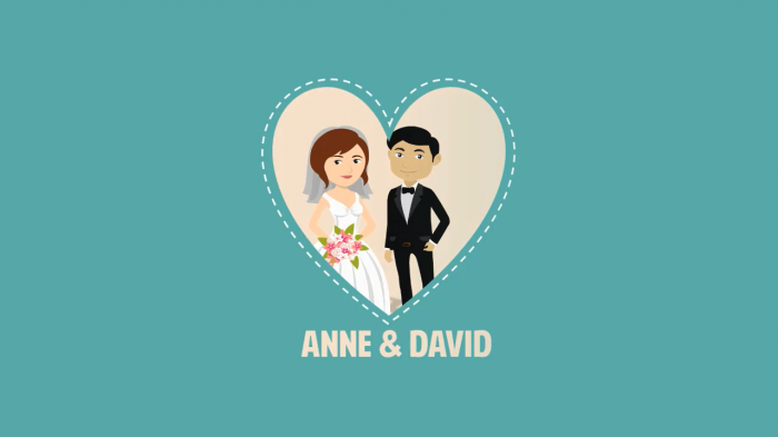 Wedding Explainer Video Template AnimationVideo - Explainer video templates