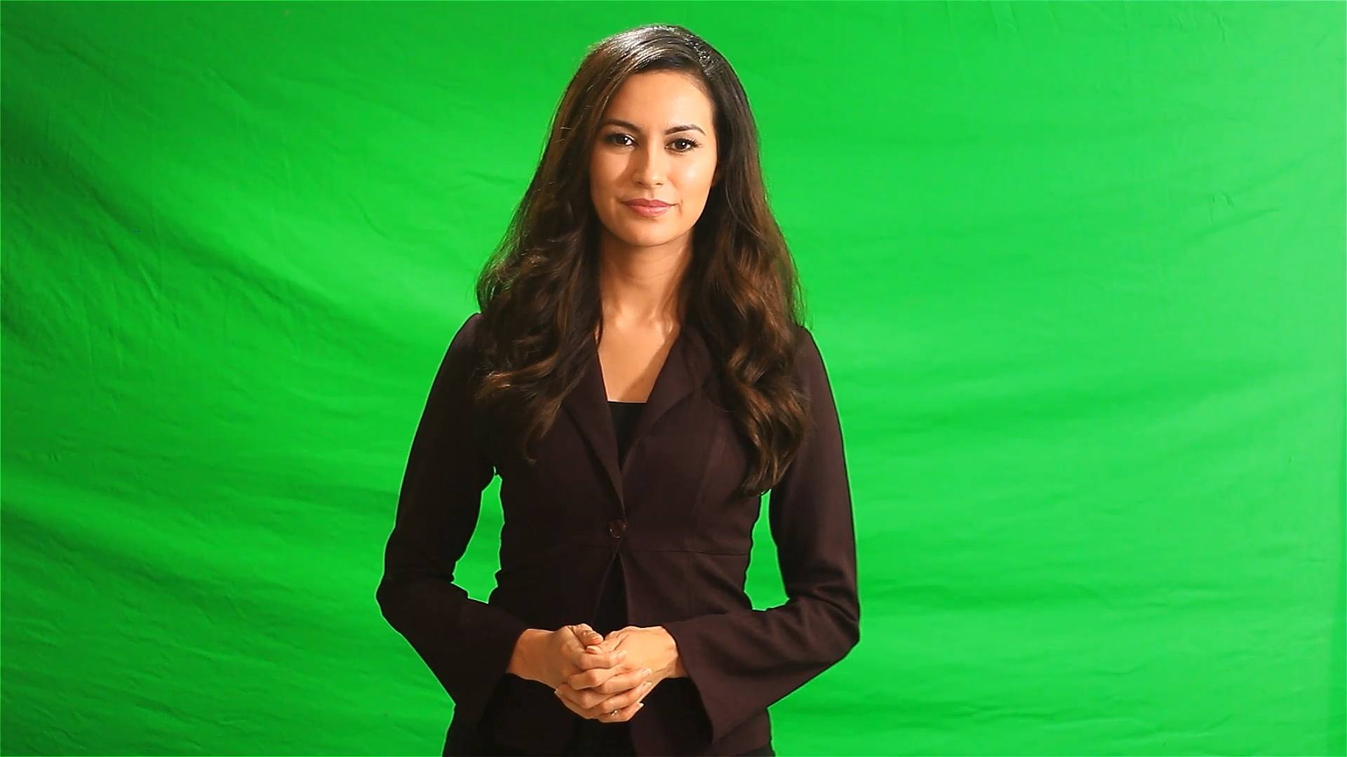 Dentist Green Screen Spokesperson