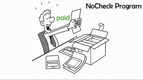 No Check Bill Payment - whiteboard animation