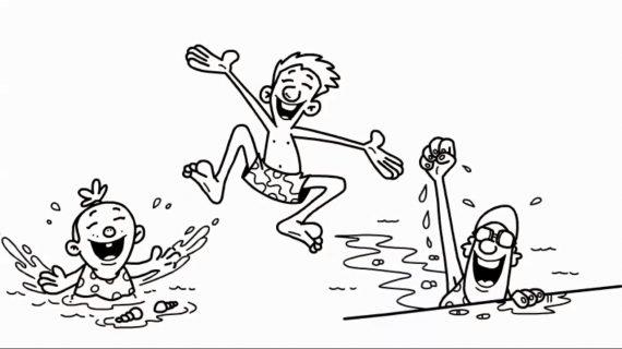 Swim Team Whiteboard Animation
