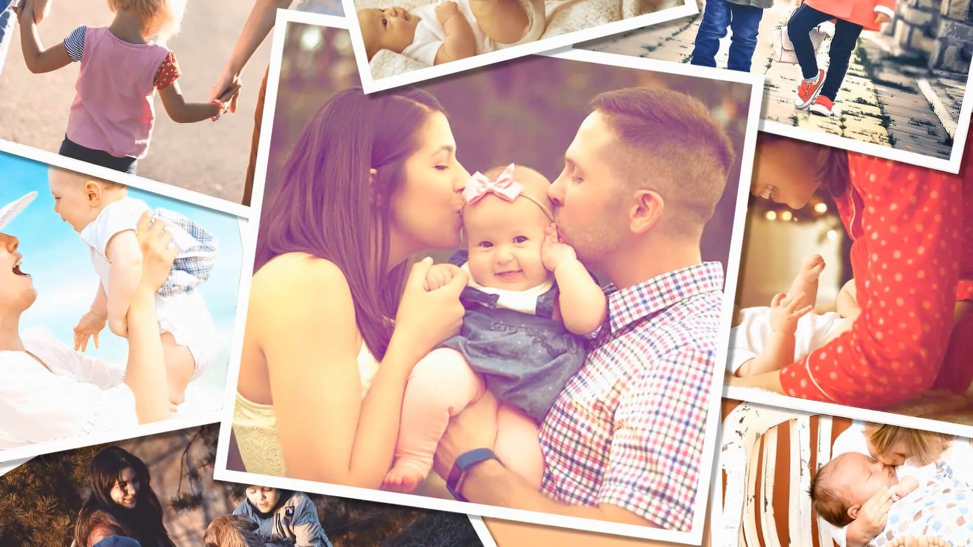 Family Photo Video Templates
