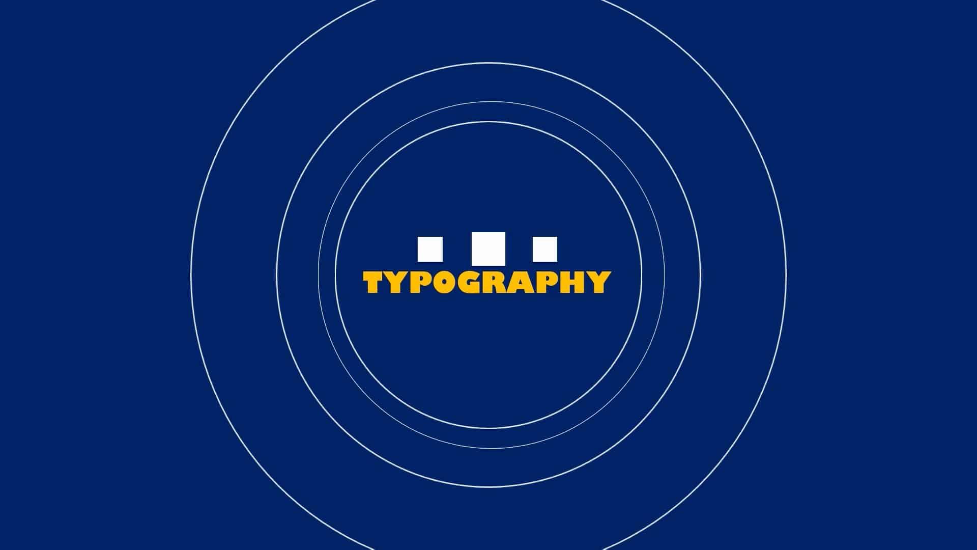 Typography Slide Show