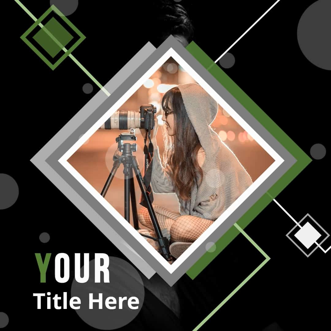 Photography Instagram Video Templates