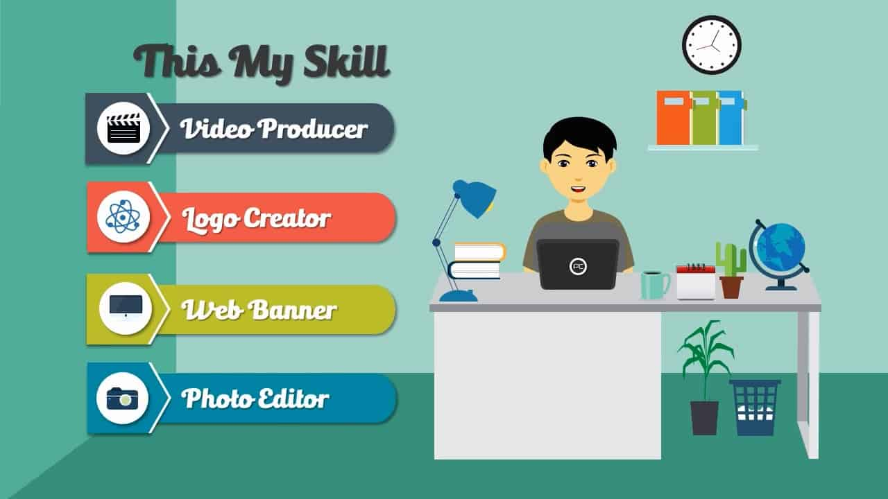Designer Explainer Video Template