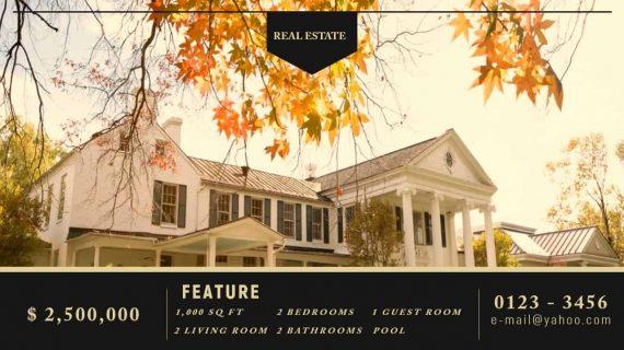 Real Estate Promo Video Template